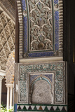 Spain, Andalusia, Sevilla, Alcazar, Royal Fortresses (The Royal Alcazar), Wall Relief Photographic Print by Samuel Magal