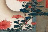 Utagawa Hiroshige Chrysanthemums Poster