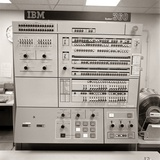 1960s-1970s Control Panel Ibm System 360 Computer Photographic Print by H. Armstrong Roberts