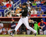 Miami Marlins Christian Yelich 2013 Action Photo
