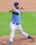 Kansas City Royals Danny Duffy 2012 Action Photo