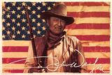 John Wayne- Flag Posters