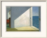 Rooms by the Sea Poster by Edward Hopper
