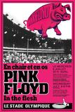 Pink Floyd Concert Kunstdruck