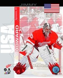 Detroit Red Wings Jimmy Howard- USA Portrait Plus Photo
