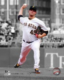 Pittsburgh Pirates Gerrit Cole 2013 Spotlight Action Photo