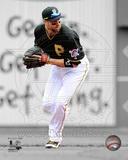 Pittsburgh Pirates Neil Walker Game 4 of the 2013 NLDS Spotlight Action Photo