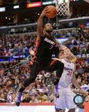 Miami Heat Dwyane Wade 2013-14 Action Photo