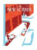 The New Yorker Cover - March 10, 2014 Premium Giclee Print by Otto Steininger