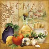 Cuisine italienne I Affiches par Conrad Knutsen