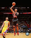 Miami Heat Ray Allen 2013-14 Action Photo