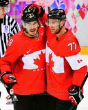 Team Canada Drew Doughty & Jeff Carter 2014 Winter Olympics Action Photo