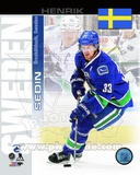 Vancouver Canucks Henrik Sedin- Sweden Portrait Plus Photo