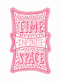Venn by Pen: Time, Space, Infinite Poster Posters by  Satchel & Sage