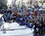 Marshawn Lynch Seattle Seahawks Super Bowl XLVIII Victory Parade Photo