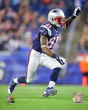 New England Patriots Jamie Collins 2013 Action Photo