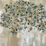 A Teal Tree Posters af Katrina Craven