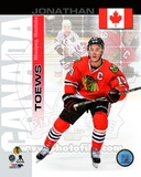 Chicago Blackhawks Jonathan Toews- Canada Portrait Plus Photo