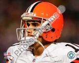 Cleveland Browns Brady Quinn 2008 Close Up Photo