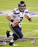 Seattle Seahawks Russell Wilson Super Bowl XLVIII Action Photo