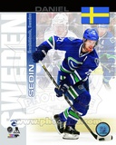Vancouver Canucks Daniel Sedin- Sweden Portrait Plus Photo