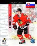 Chicago Blackhawks Marian Hossa- Slovakia Portrait Plus Photo