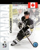 Pittsburgh Penguins Sidney Crosby- Canada Portrait Plus Photo
