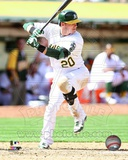 Oakland Athletics Josh Donaldson 2013 Action Photo