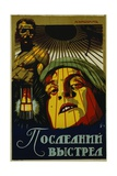 Russian Constructivist Poster Design for Film Advertisement Giclee Print