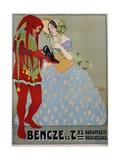 Bencze Es Trs. Poster Giclee Print by Geza Farago