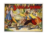 Babes in the Wood Color Print Giclee Print