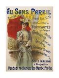 Au Sans Pareil Giclee Print by Charles Tichon