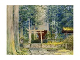Stone Road to a Shrine Giclee Print by Ioki Bunsai