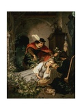 Sleeping Beauty (One of a Pair with Snow White) Giclee Print by Roland Risse