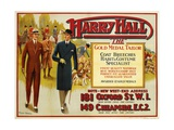 "Harry Hall - ""The"" Gold Medal Tailor Advertisement Poster Giclee Print by Hilton Greene"