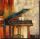 Piano Forte Stretched Canvas Print by  Giovanni