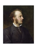 Portrait of Sir John Everett Millais Giclee Print by George Frederic Watts