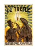 Manchon Le Trefle Poster Giclee Print by Charles Delaye