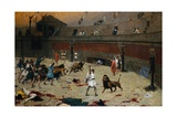 The Return of the Felines after the Circus Giclee Print by Jean Leon Gerome