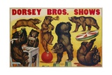Dorsey Bros. Shows Poster Giclee Print