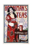 Horniman's Teas Advertisement Poster Giclée-Druck von H. Banks