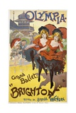 "Olympia - Grand Ballet: ""Brighton"" Poster Advertisement Giclee Print"