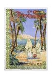 Transatlantique P.L.M. Poster Giclee Print by Fernand Le Quesne