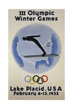 III Olympic Winter Games Poster Giclee Print by Witold Gordon