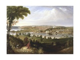 City of Washington, Dc from Beyond the Navy Yard Giclee Print by George Cooke