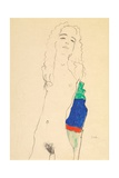 Standing Female Nude Giclee Print by Egon Schiele