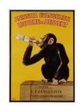 Anisetta Evangelisti Liquore Da Dessert Poster Giclée-tryk af Carlo Biscaretti Di Ruffia