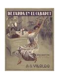 De Farra En El Cabaret Tango Sheet Music Cover Giclee Print