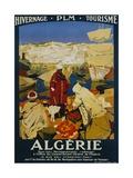 Algerie Poster Giclée-Druck von Leon Cauvy
