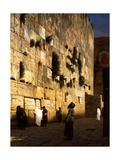 Solomon's Wall, Jerusalem (The Wailing Wall) Giclée-tryk af Jean Leon Gerome